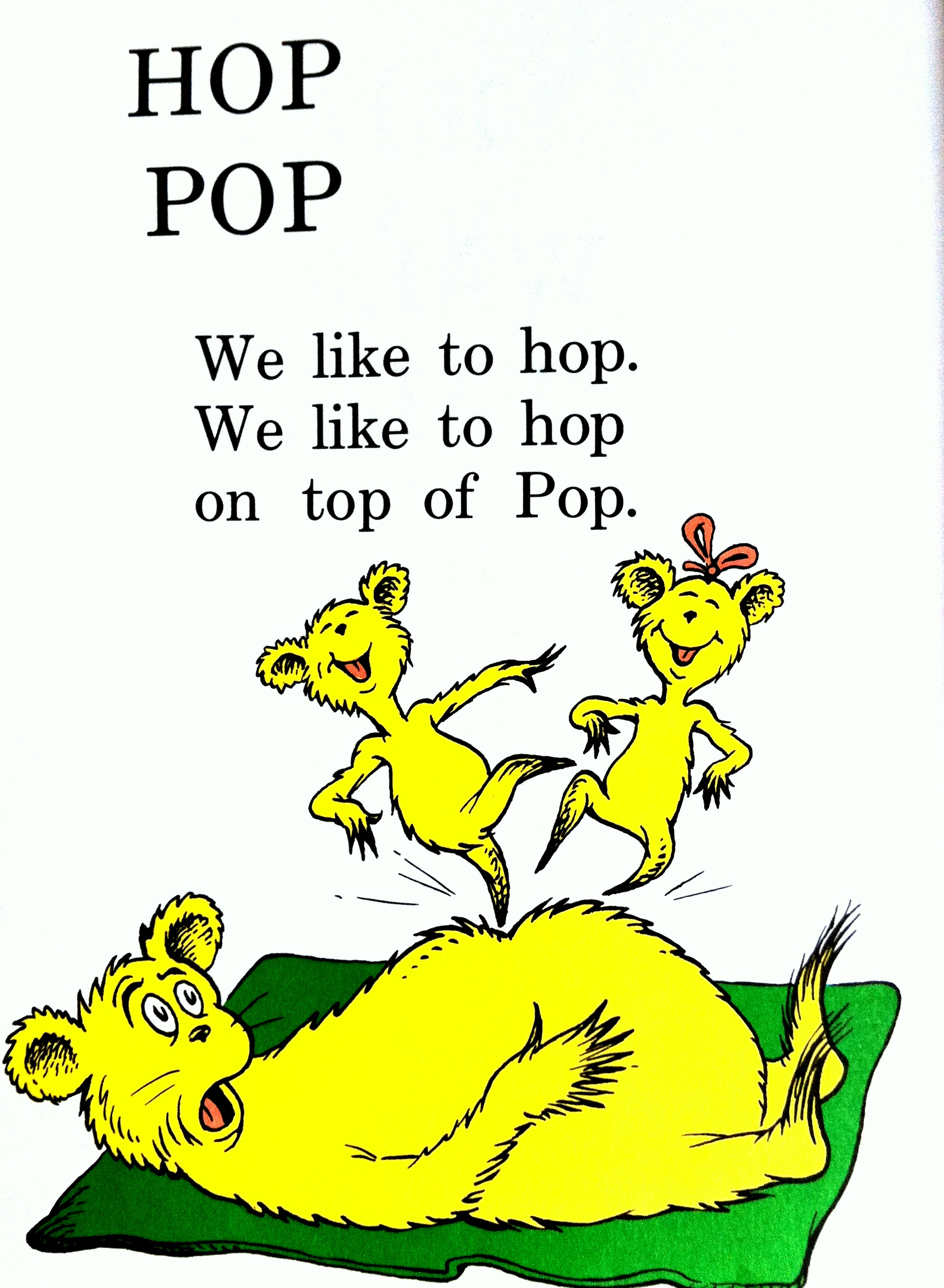 hop on pop free pdf